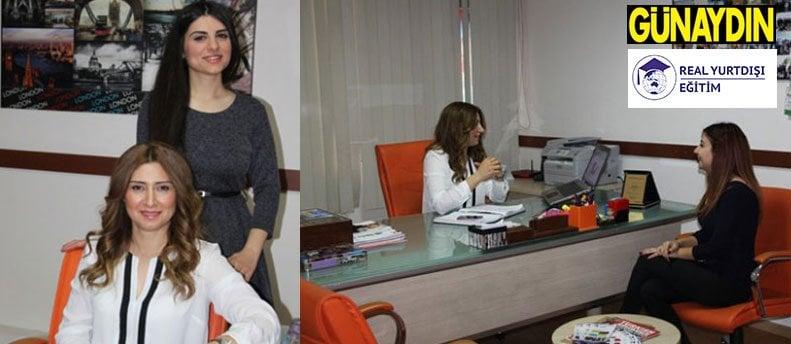 Real Eğitim Günaydın Gazetesine Röportaj verdi.