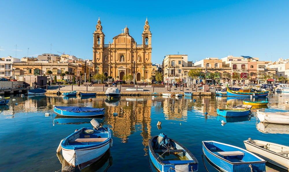 glise  Sliema, Malte