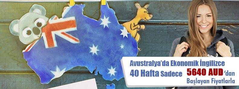 Avustralya'da 40 hafta İngilizce sadece 5640 AUD'dan başlayan fiyatlarla…
