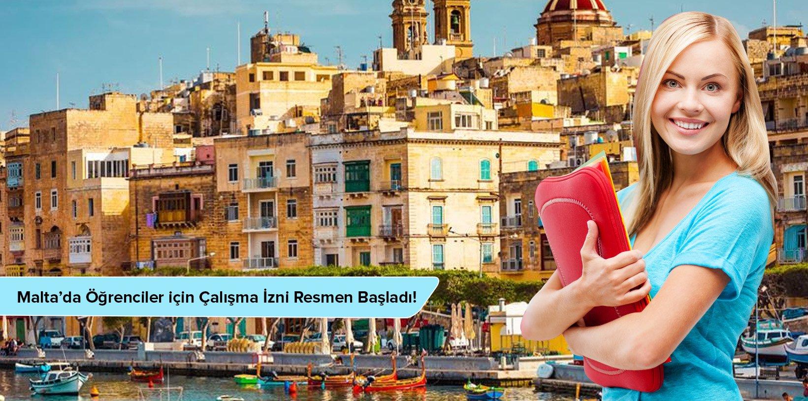 Malta'da Öğrenciler için Çalışma İzni Resmen Başladı!