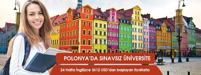 Polonya'da sınavsız üniversite