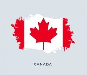 Kanada bayrak