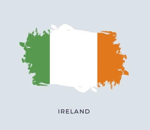 İrlanda Bayrak