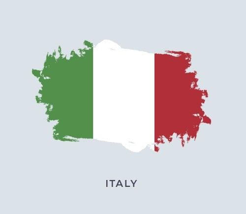 İtalya Bayrak