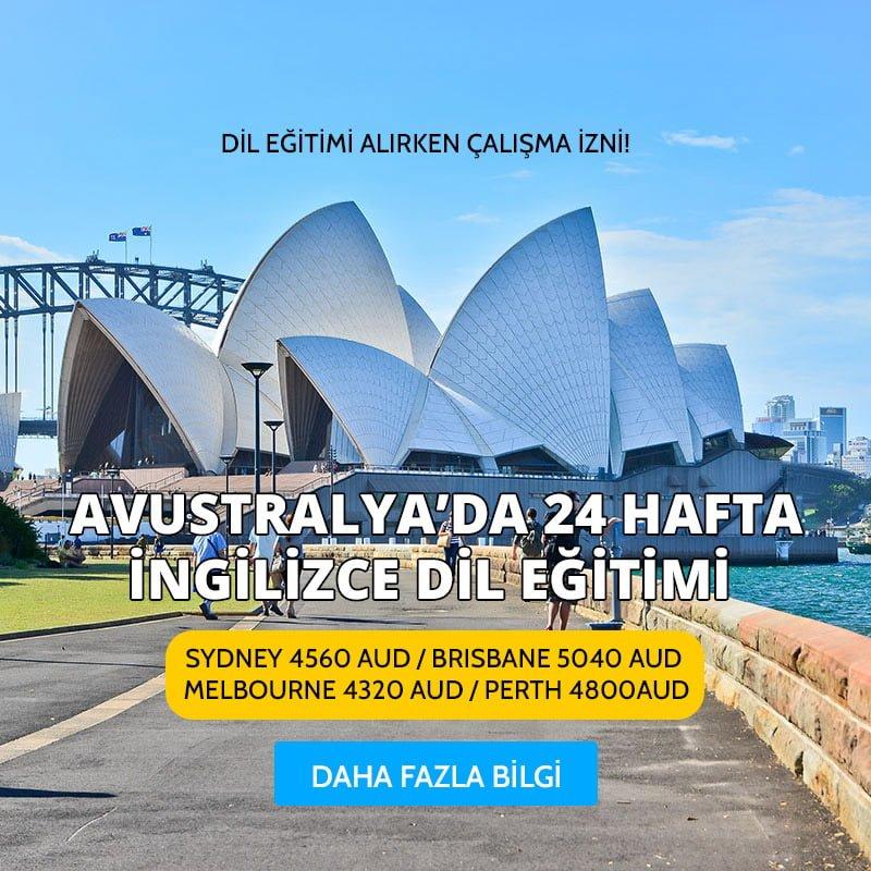 Avustralya'da 24 Hafta İngilizce Dil Eğitimi