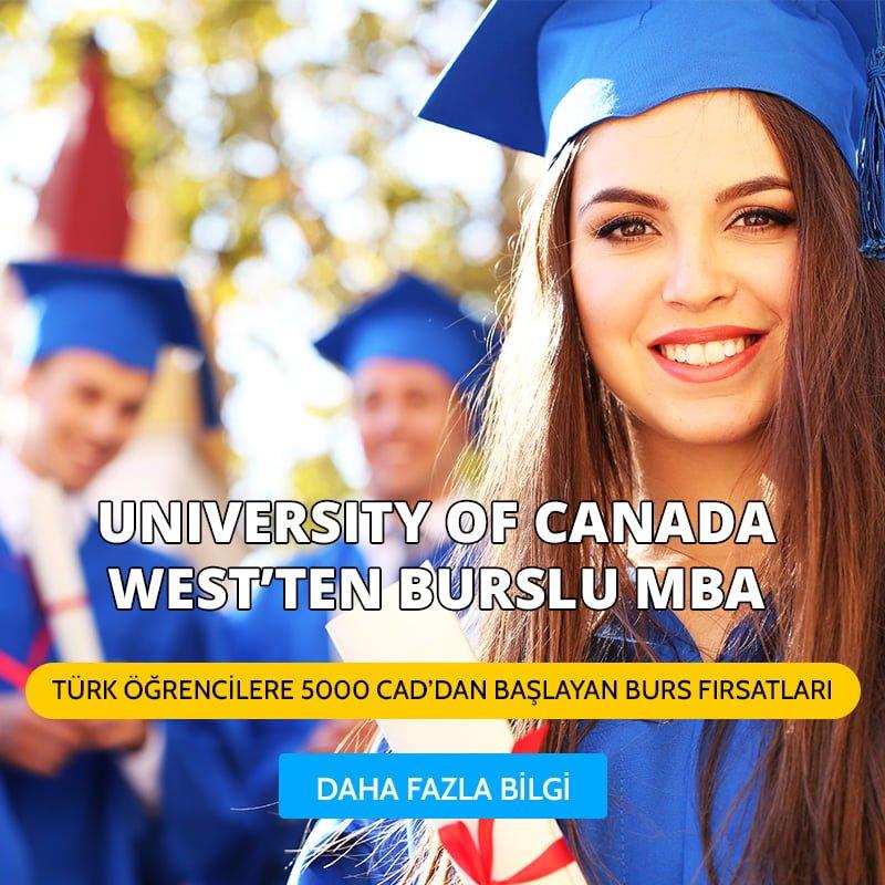 University Of Canada West'ten Burslu Mba