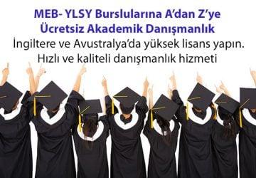 MEB – YLSY Burslularına A'dan Z'ye Ücretsiz Akademik Danışmanlık
