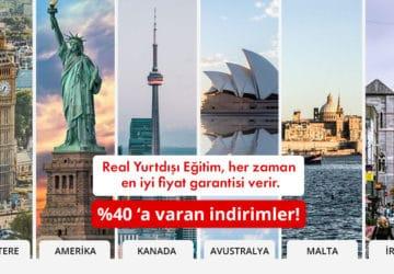 Real Yurtdışı Eğitim, her zaman en iyi fiyat garantisi verir.